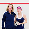 2012 College Squash Individual Championships: Wendy Bartlett and Andrea Echeverria (Trinity)