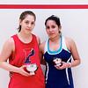 2012 College Squash Individual Championships: Yarden Odinak (Penn) and Alicia Rodriguez (Trinity)