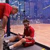 2012 Cornell at Trinity: Cornell coach Mark Devoy with Alex Domenick