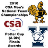 2010 Men's National Team Championships - Potter Cup Finals, Award Ceremony