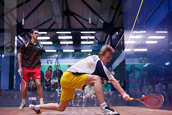 2013 College Squash Individual Championships: Amr Khaled Khalifa (St. Lawrence) and Johan Detter (Trinity)
