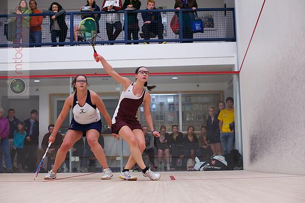 2013 Women's National Team Championships: Megan Murray (Harvard) and Chanel Erasmus (Trinity)