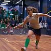2013 College Squash Individual Championships: Kanzy El Defrawy (Trinity) and Millie Tomlinson (Yale)