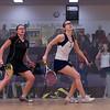 2013 NESCAC Championships: Natalie Babjukova (Trinity) and Chloe Mitchell (Bates)