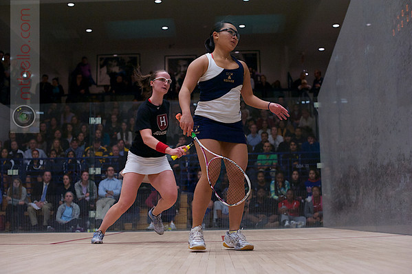 2013 Women's National Team Championships: Haley Mendez (Harvard) and Wee Nee Low (Trinity)