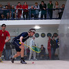 2013 Men's National Team Championships: Amr Khaled Khalifa (St. Lawrence) and Reinhold Hergeth (Trinity)<br /> <br /> Published on page 1 of Squash Magazine (December 2013)