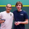 2013 College Squash Individual Championships: Zeyad Elshorfy (Trinity) and Ryan Todd (Cornell)