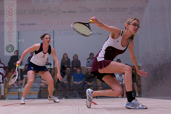 2012 Women's National Team Championships: Ashley Tidman (Trinity) and Michelle Gemmell (Harvard)