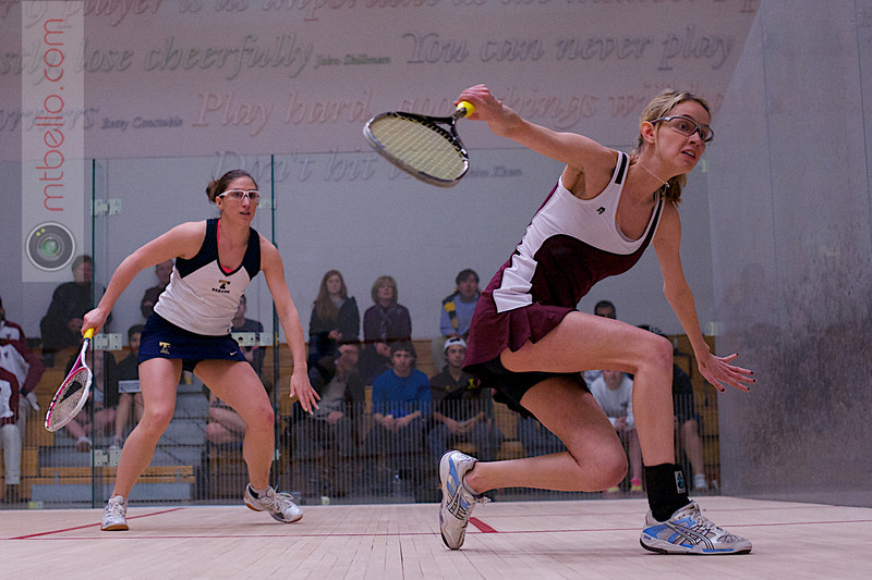 2012 Women's National Team Championships: Ashley Tidman (Trinity) and Michelle Gemmell (Harvard)