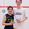 2013 College Squash Individual Championships: Johan Detter (Trinity) and Miled Zarazua (Trinity)