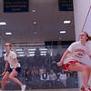 2013 College Squash Individual Championships: Jennifer Pelletier (Trinity) and Lindsay Seginson (Cornell)