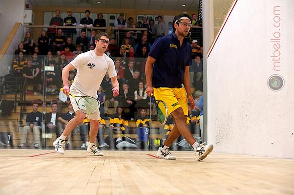 John Fulham (Yale) and Antonio Diaz (Trinity)