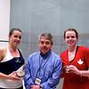 Pamela Hathway (Trinity), Craig Thorpe-Clark, Jackie Moss (Princeton)
