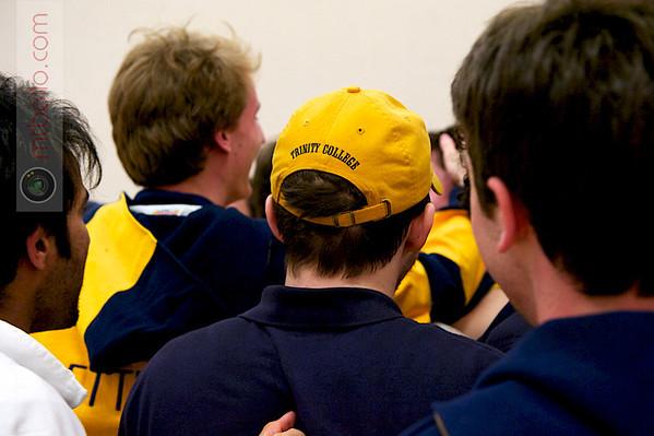 Trinity celebrating the 2011 Team Championships