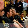 Trinity Coach Paul Assaiante watching Richard Dodd (Yale) and Chris Binnie (Trinity)
