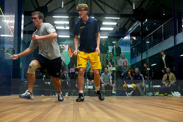 Johan Detter (Trinity) and Harry Smith (Colby)