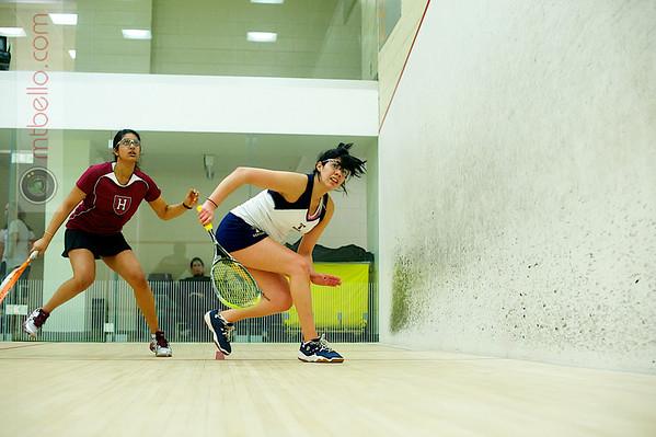 Pamela Jimenez (Trinity) and Vidya Rajan (Harvard)