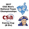 2017 MCSA Team Championships - Conroy Cup: Divine Wing (Hobart) and Connor Wind (Tufts)