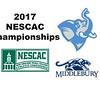2017 NESCAC Championships: Alexa Comai (Middlebury) and Catherine Shanahan (Tufts)