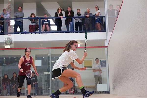 2013 Women's National Team Championships: Chloe Fross (Georgetown) and Elisabeth Pei (Vassar)