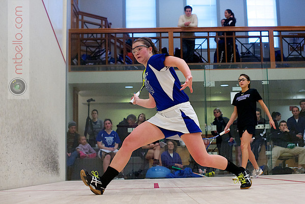 2012 Pioneer Valley Invitational: Arielle Lehman (Amherst) and Emma Haley (Wellesley)
