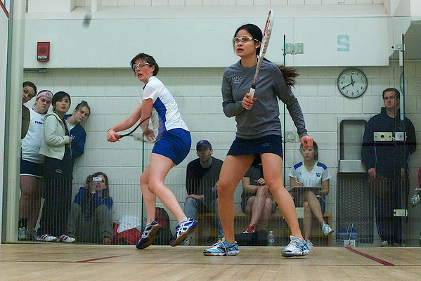 Laurian Lue Yen (gray) and Jackie Shaw (white)