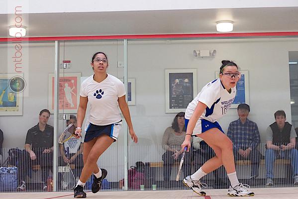 2013 Women's National Team Championships: Marguerite Sulmont (Wellesley) and Elyse Taylor (Mount Holyoke)