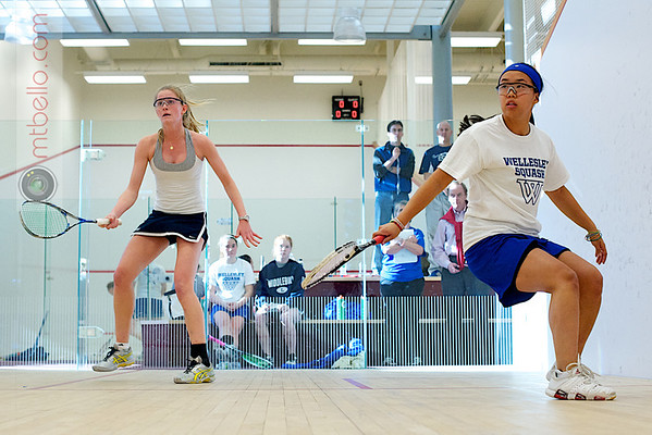 Elena Laird (Middlebury) and Rosemary O'Connor (Wellesley)