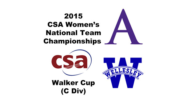 2015 WCSA Team Championships - Walker Cup: Arielle Lehman (Amherst) and Phyllis Lin (Wellesley)