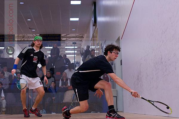 2013 NESCAC Championships: Walter Cabot (Bates) and Michael DeLalio (Wesleyan)