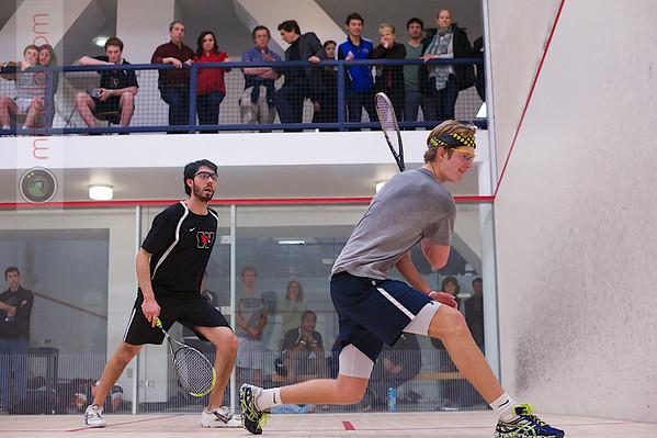 2013 Men's National Team Championships: Harrison Croll (Middlebury) and Jeffrey Berman (Wesleyan)