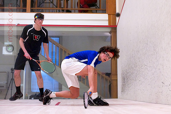 2012 Pioneer Valley Invitational: John Steele (Wesleyan) and Cooper Veysey (Hamilton)