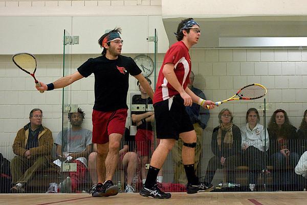 Alex Dodge (St. Lawrence) and Dale Kobrin (Wesleyan)