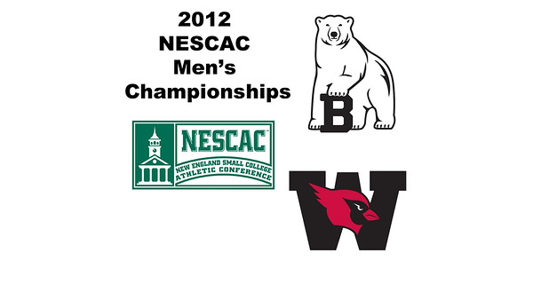 2012 NESCAC Men's Championships: #1s - John Steele (Wesleyan) and Andrew Hilboldt (Bowdoin)