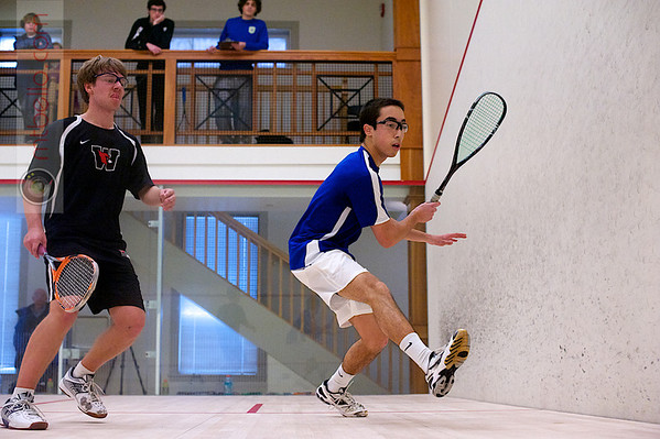 2012 Pioneer Valley Invitational: Daniel Sneed (Wesleyan) and Martin Bawden (Hamilton)