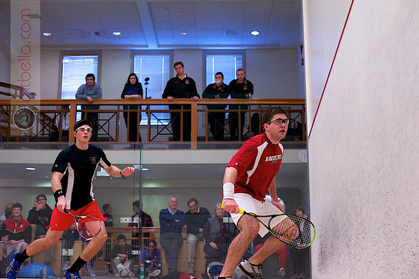 2013 Pioneer Valley Invitational: Guy Davidson (Wesleyan) and	Christopher Tyson (Haverford)