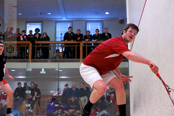 2013 Pioneer Valley Invitational: John Steele	(Wesleyan) and Andrew McComas (Haverford)
