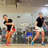 Jenny Chu (Wesleyan) and Eliana Saltzman (Williams)