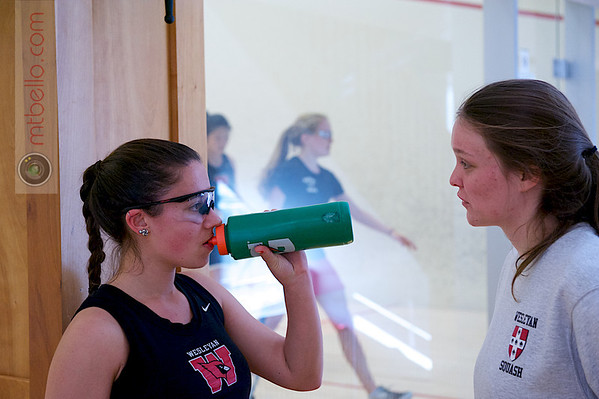2013 Pioneer Valley Invitational: Danielle Craig (Wesleyan) and Nell Schwed (Wesleyan)