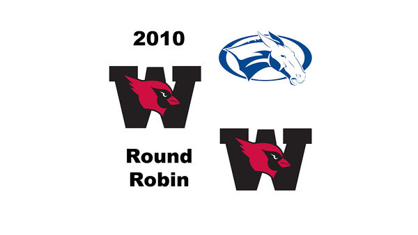 2010 Wesleyan Round Robin: Kate Pistel (Colby) and Mary Foster (Wesleyan)