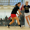 Lauren Mathieu (George Washington) and Grace Zimmerman (Wesleyan)<br /> <br /> Published on page 11 of the 2011 Women's College Squash Association National Team Championship Program.