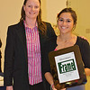 CSA President Shona Kerr (Wesleyan) and Richey Award Winner Alia Aziz (Yale)