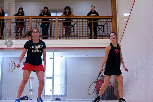 2013 Pioneer Valley Invitational: Grace Zimmerman (Wesleyan) and Alisa Tirado Strayer (Haverford)