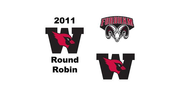 2011 Wesleyan Round Robin: #2s Daniel Sneed (Wesleyan) and Andrew Grosner (Fordham)