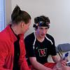 2012 College Squash Individual Championships: Shona Kerr and John Steele (Wesleyan)