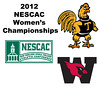 2012 NESCAC Women's Championships: #1s - Ashley Tidman (Trinity) and Mary Foster (Wesleyan)