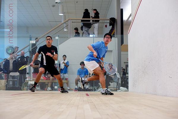 Alex Nunez (Wesleyan) and Andrew Tan (Columbia)