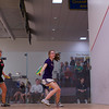 2013 NESCAC Championships: Mia Fry (Williams) and Danielle Craig (Wesleyan)