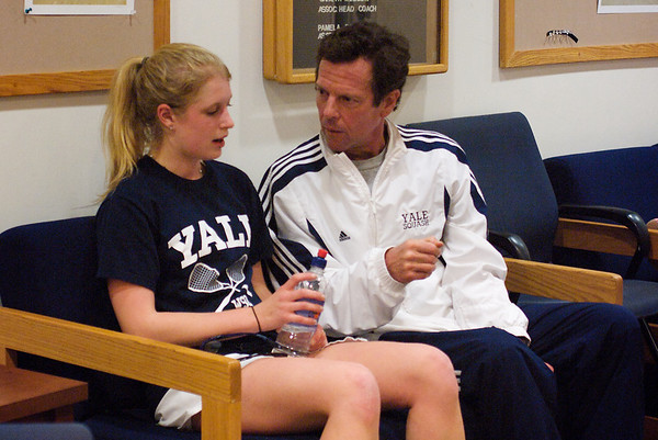 Yale's Dave Talbot and Alexandra Van Arkel