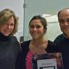 Alia Aziz (Yale) and her parents